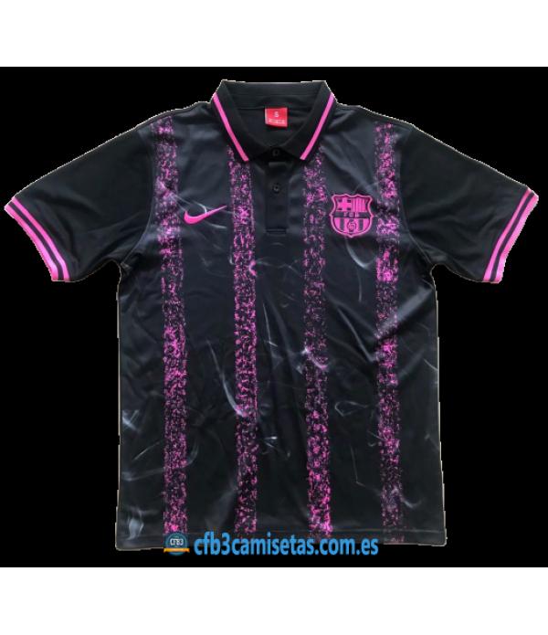 CFB3-Camisetas Polo FC Barcelona Morado