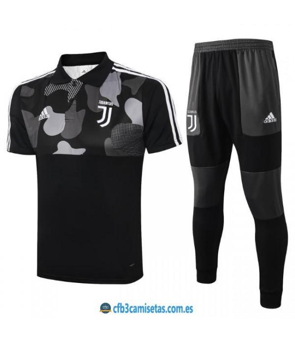 CFB3-Camisetas Polo Pantalones Juventus 2019/20