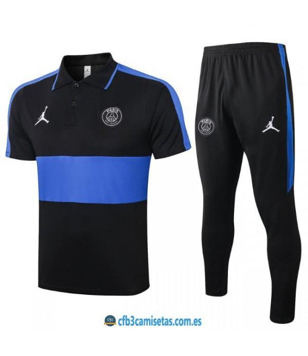 CFB3-Camisetas Polo Pantalones PSG x Jordan 2019/20