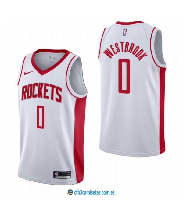 CFB3-Camisetas Russell Westbrook Houston Rockets 2019/20 - Association