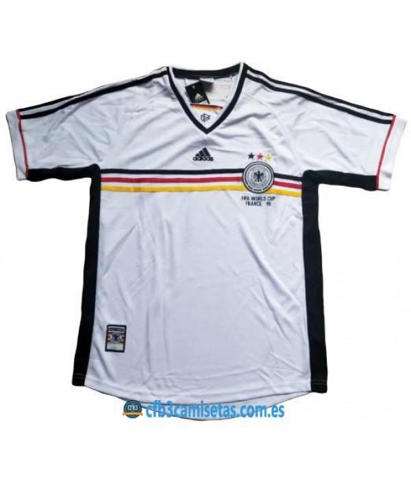 CFB3-Camisetas Alemania 1a Equipación Mundial 1998