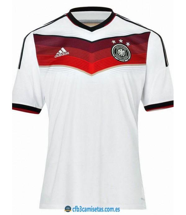 CFB3-Camisetas Alemania 1a Equipación Mundial 2014