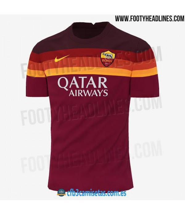 CFB3-Camisetas AS Roma 1a Equipación 2020/21