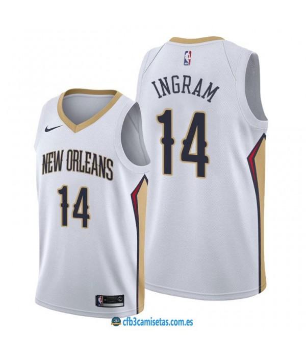 CFB3-Camisetas Brandon Ingram New Orleans Pelicans 2019/20 - Association