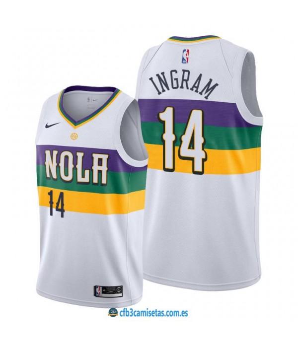 CFB3-Camisetas Brandon Ingram New Orleans Pelicans 2019/20 - City Edition