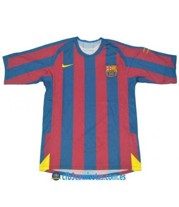 CFB3-Camisetas Camiseta FC Barcelona 2005-06 Final UCL