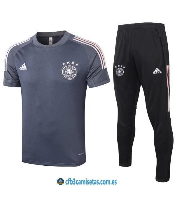 CFB3-Camisetas Camiseta Pantalones Alemania 2020/21