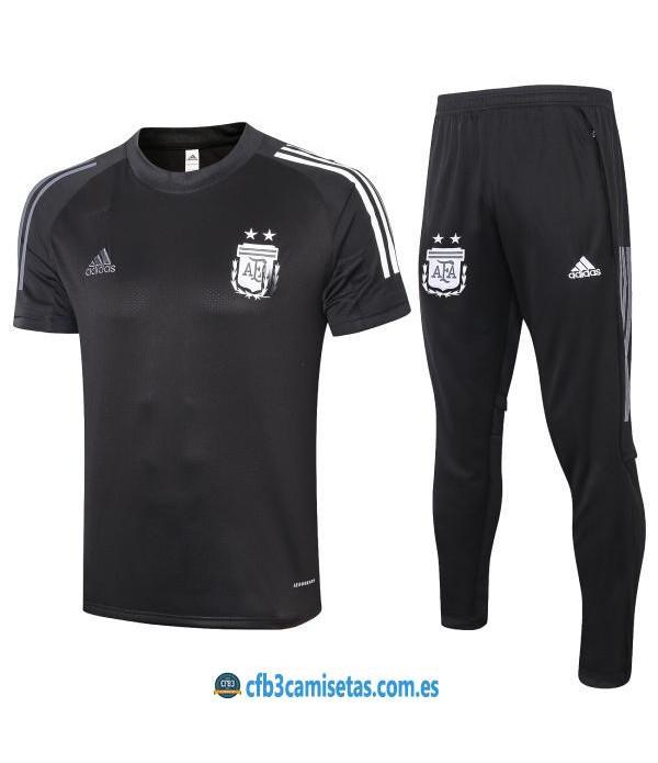 CFB3-Camisetas Camiseta Pantalones Argentina 2020/21