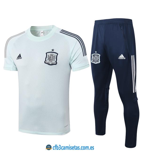 CFB3-Camisetas Camiseta Pantalones España 2020/21