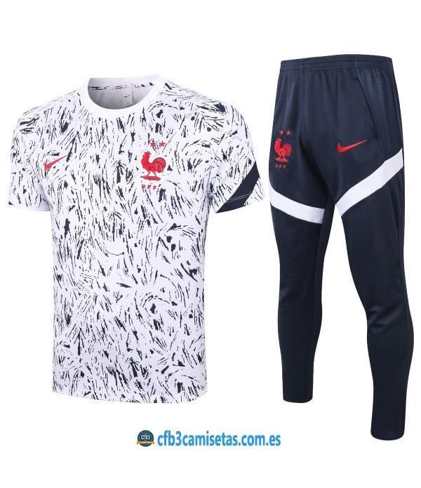 CFB3-Camisetas Camiseta Pantalones Francia 2020/21
