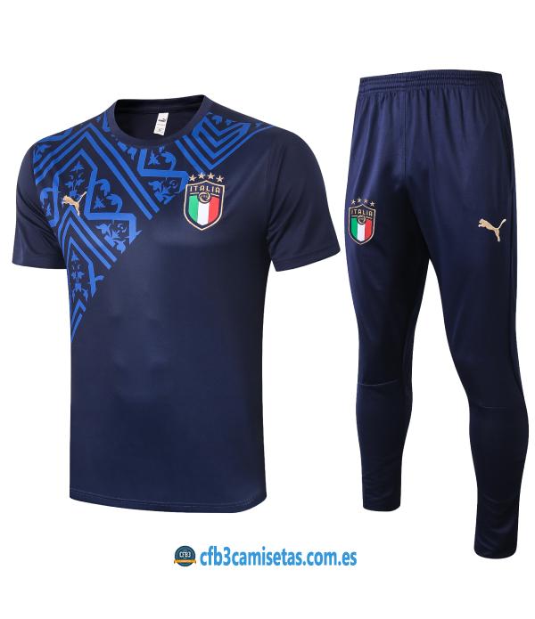 CFB3-Camisetas Camiseta Pantalones Italia 2020/21