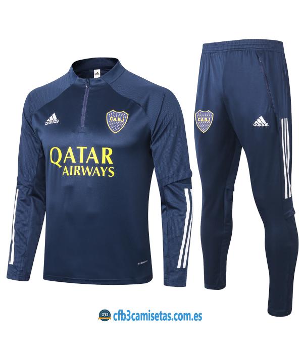 CFB3-Camisetas Chándal Boca Juniors 2020/21 - Qatar