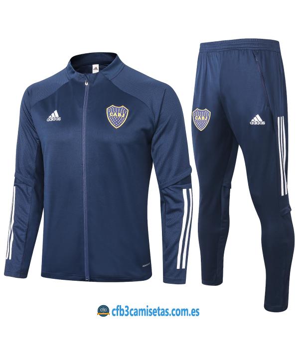CFB3-Camisetas Chandal Boca Juniors 2020/21