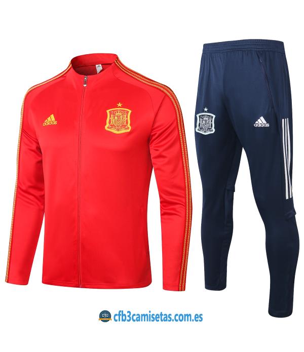 CFB3-Camisetas Chándal España 2020/21