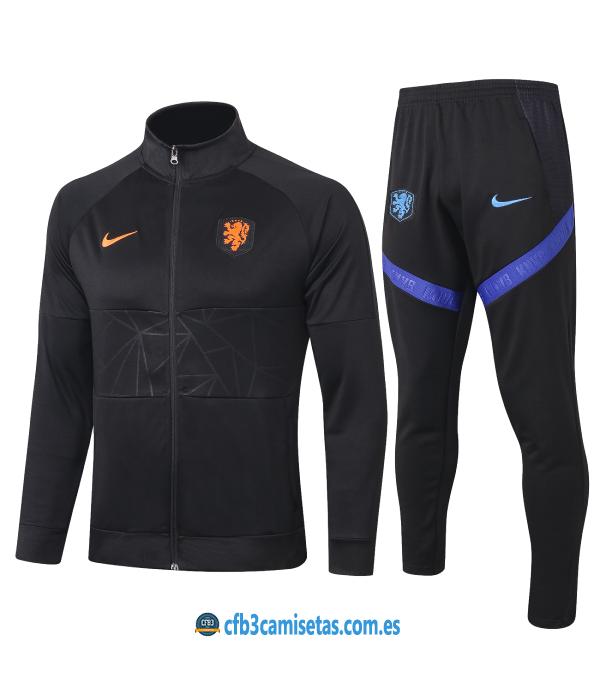 CFB3-Camisetas Chándal Holanda 2020/21 - JUNIOR