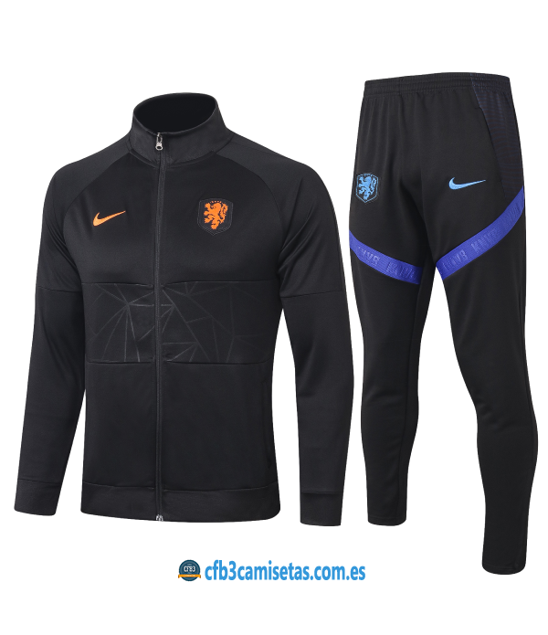 CFB3-Camisetas Chándal Holanda 2020/21