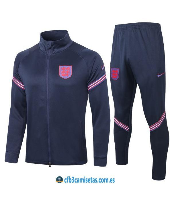 CFB3-Camisetas Chándal Inglaterra 2020/21
