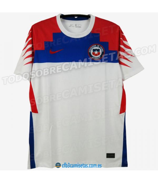 CFB3-Camisetas Chile 2a Equipación 2020/21