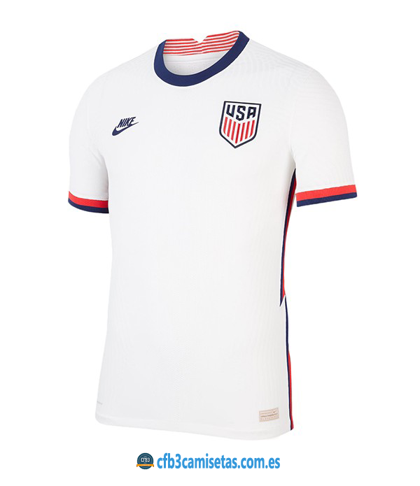 CFB3-Camisetas EEUU 1a Equipación 2020/21