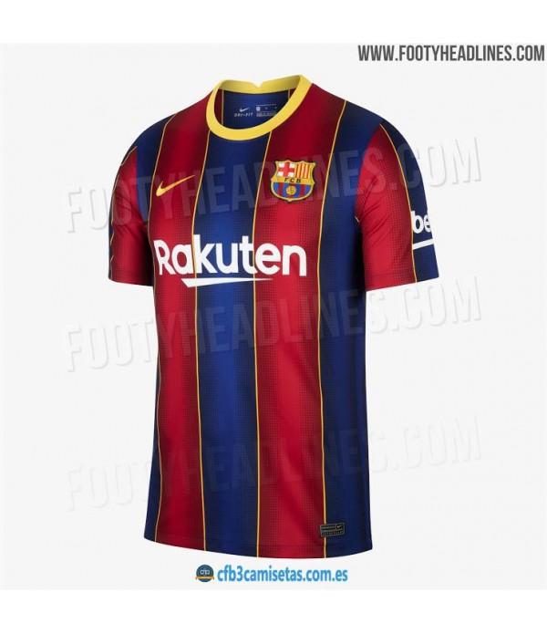 CFB3-Camisetas FC Barcelona 1a Equipación 2020/21