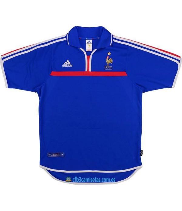 CFB3-Camisetas Francia 1a Equipación 2000