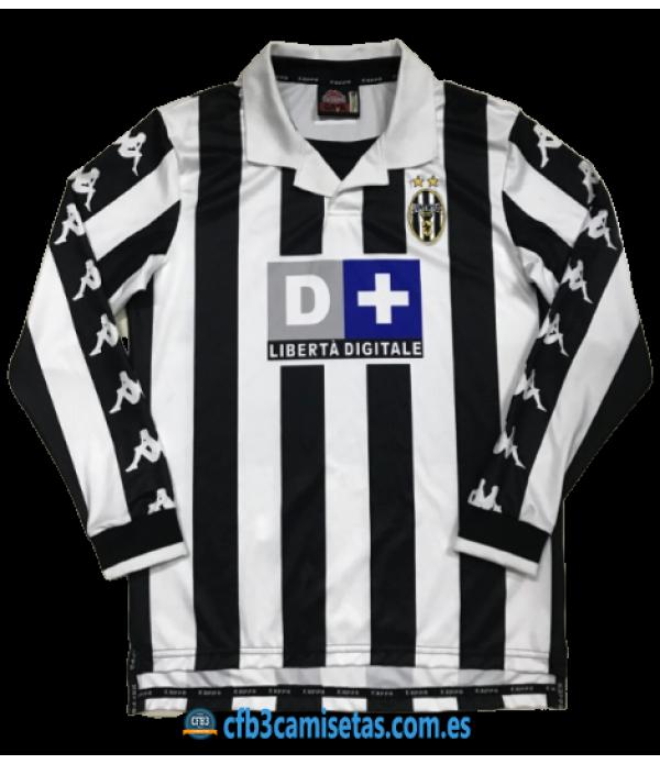 CFB3-Camisetas Juventus 1a Equipación 1999-00 ML