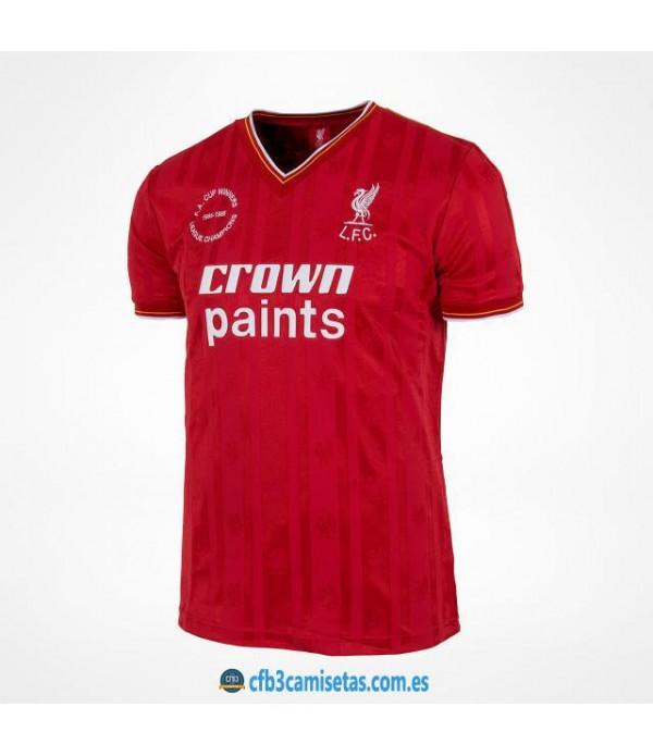 CFB3-Camisetas Liverpool 1a Equipación 1985-86