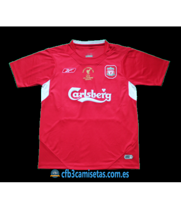 CFB3-Camisetas Liverpool 1a Equipación 2005