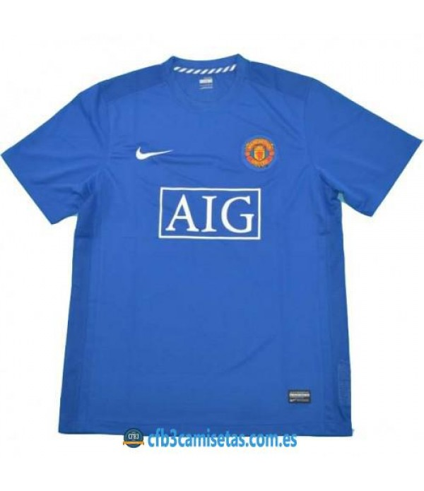 CFB3-Camisetas Manchester United 3a Equipación 2007/08