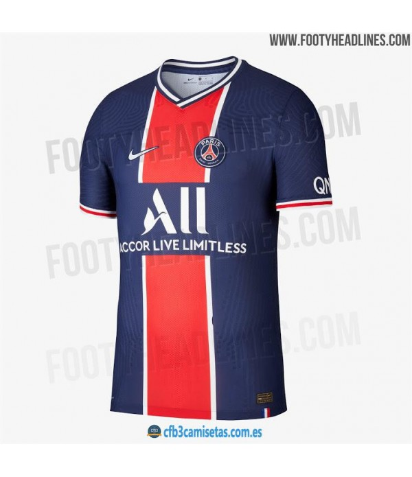 CFB3-Camisetas PSG 1a Equipación 2020/21