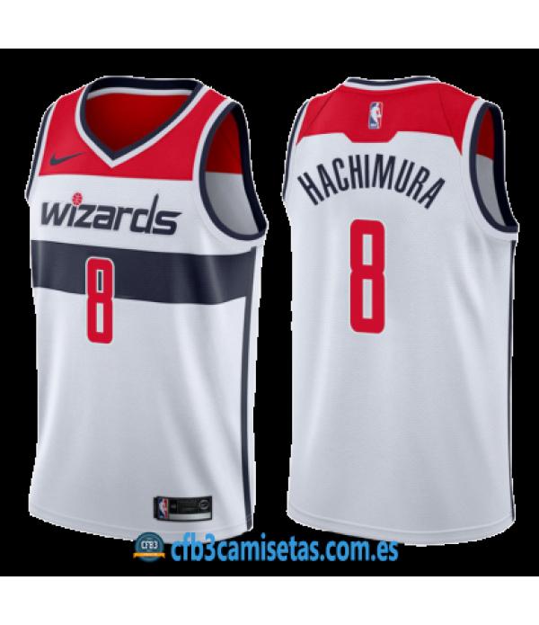CFB3-Camisetas Rui Hachimura Washington Wizards 2019/20 - Association