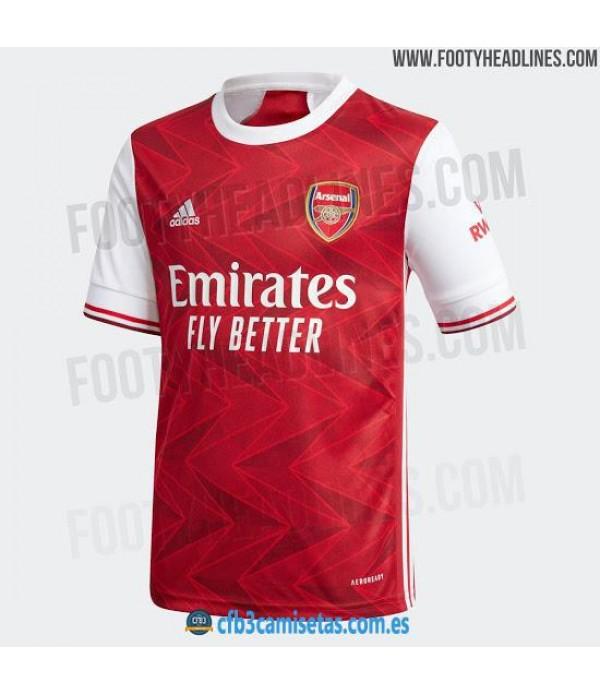 CFB3-Camisetas Arsenal 1a Equipación 2020/21