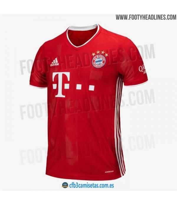 CFB3-Camisetas Bayern Munich 1a Equipación 2020/21