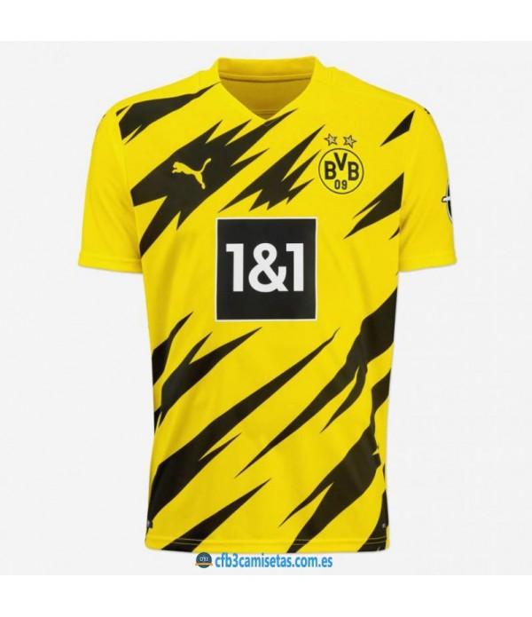 CFB3-Camisetas Borussia Dortmund 1a Equipación 2020/21