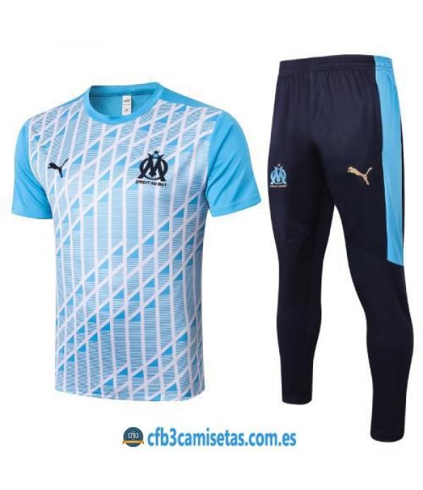 CFB3-Camisetas Camiseta Pantalones Olympique Marsella 2020/21