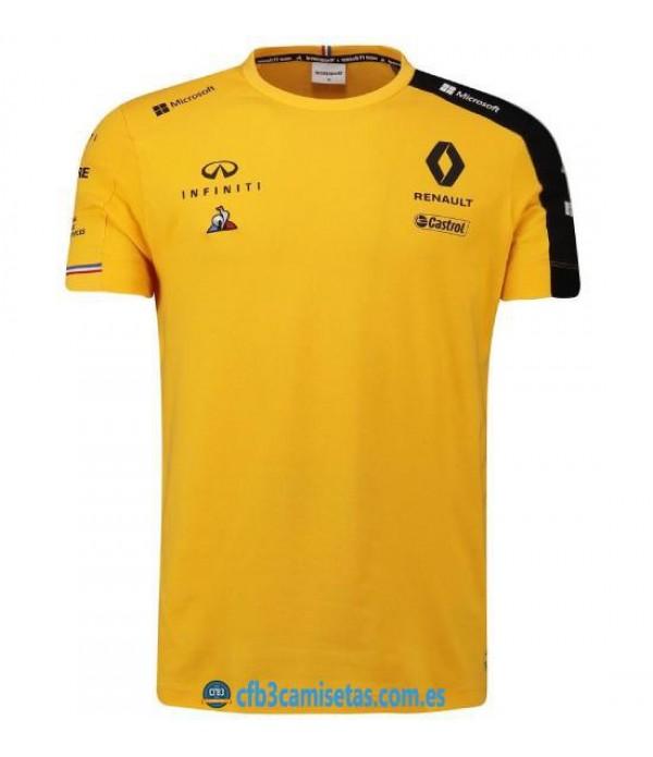 CFB3-Camisetas Camiseta Renault DP World 2020 - Amarilla