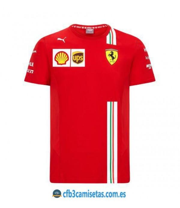 CFB3-Camisetas Camiseta Scuderia Ferrari 2020