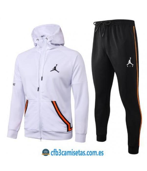 CFB3-Camisetas Chándal Air Jordan 2020/21 - Blanco