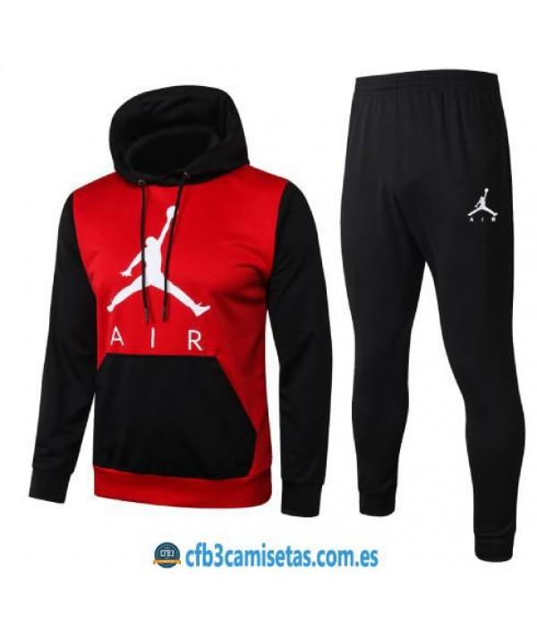 CFB3-Camisetas Chándal Air Jordan 2020/21 - Rojo