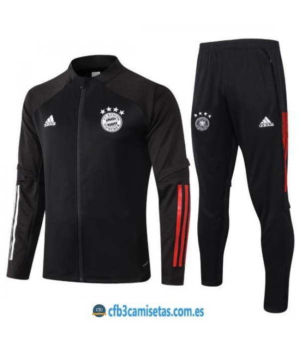 CFB3-Camisetas Chándal Bayern Munich 2020/21