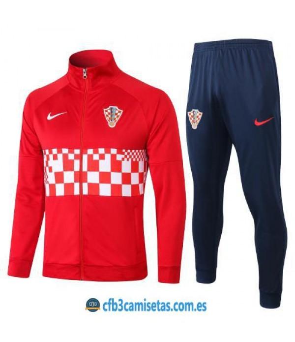 CFB3-Camisetas Chándal Croacia 2020/21
