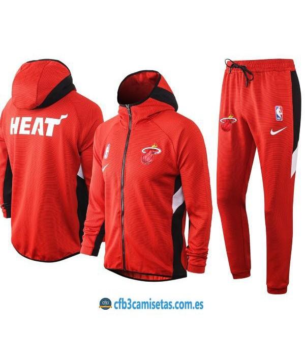 CFB3-Camisetas Chándal Miami Heat - Red
