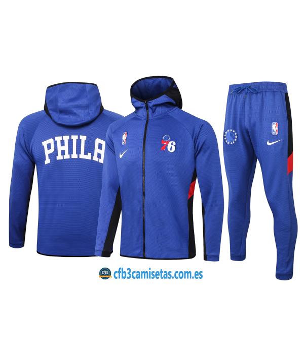 CFB3-Camisetas Chándal Philadelphia 76ers - Blue