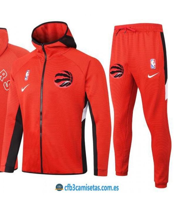 CFB3-Camisetas Chándal Toronto Raptors - Red