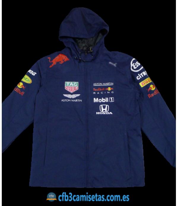 CFB3-Camisetas Chaqueta para lluvia Red Bull Racing 2020