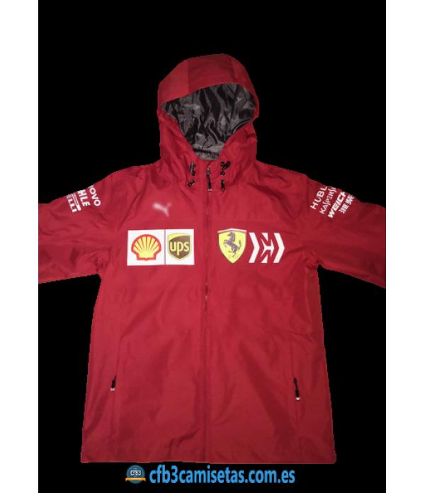 CFB3-Camisetas Chaqueta para lluvia Scuderia Ferrari 2020