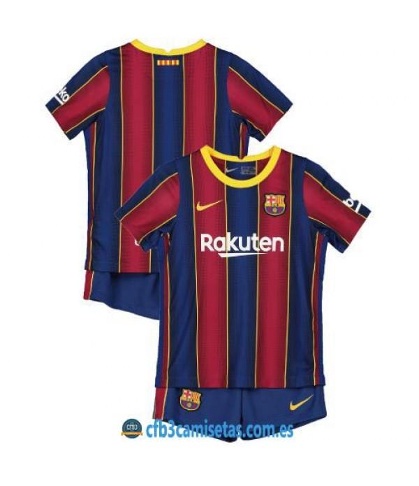CFB3-Camisetas FC Barcelona 1a Equipación 2020/21 - NIÑOS