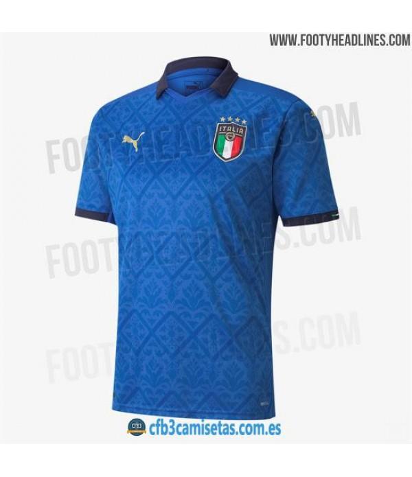 CFB3-Camisetas Italia 1a Equipación 2020