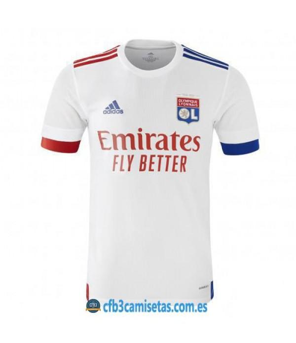 CFB3-Camisetas Olympique Lyon 1a Equipación 2020/21