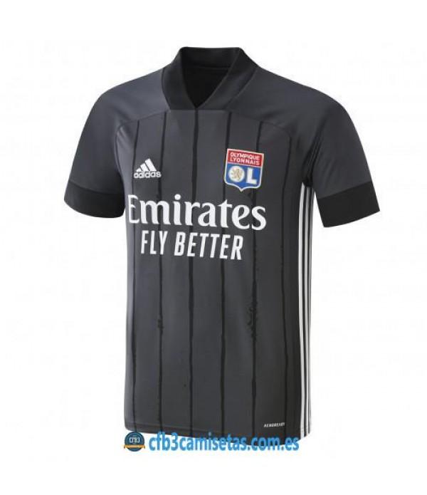 CFB3-Camisetas Olympique Lyon 2a Equipación 2020/21
